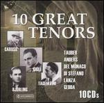 10 Great Tenors [Box Set]