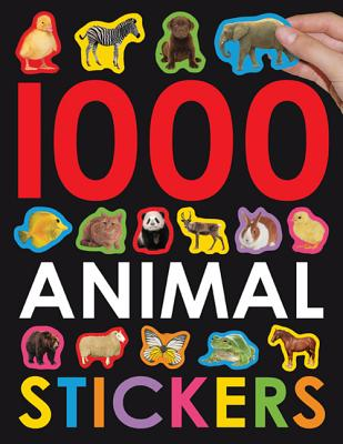 1000 Animal Stickers - Priddy, Roger