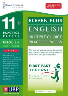 11+ English Multiple Choice Practice Papers: Pack 1 - Eleven Plus Exams, and Educational Experts