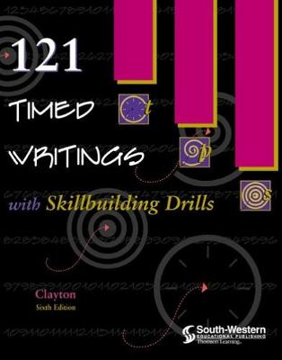 121 Timed Writings with Skillbuilding Drills - Clayton, Dean