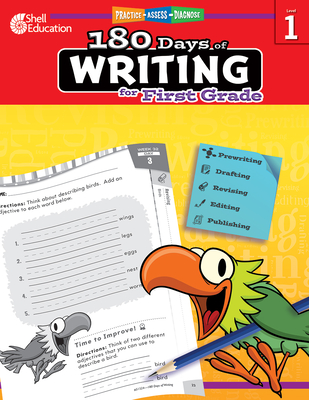 180 Days of Writing for First Grade (Grade 1): Practice, Assess, Diagnose - Smith, Jodene