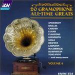 20 Gramophone All Time Greats-Vol.4 - Arthur Rubinstein (piano); Beniamino Gigli (tenor); Eileen Joyce (piano); Elisabeth Schumann (soprano); Elman String Quartet;...