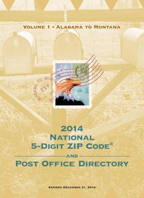 2014 National Zip Code Directory - U S Postal Service