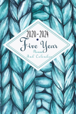 2020-2024 Five Year Planner And Calendar: 5 Year Pocket Monthly Schedule Organizer, 60 Month Calendar with Holidays, Cloud Sky - Stallworth, Joni