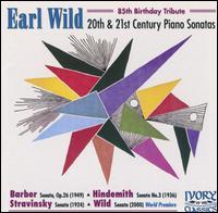 20th & 21st Century Piano Sonatas - Earl Wild (piano)