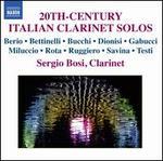 20th-Century Italian Clarinet Solos