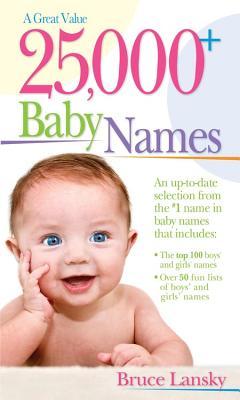 25,000 Baby Names - Lansky, Bruce