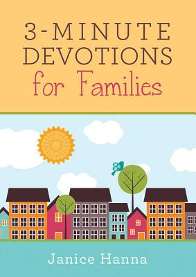 3-Minute Devotions for Families - Thompson, Janice, Dr.