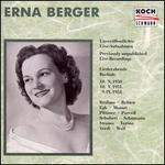 3 Song Recitals by Erna Berger