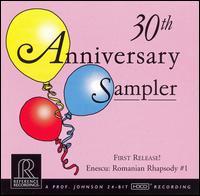 30th Anniversary Sampler - Felix Hell (organ); Gary Graffman (piano); Hugh Smith (tenor); Joel Fan (piano); Jorja Fleezanis (violin);...