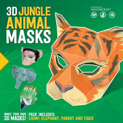 3D Jungle Animal Masks - Wintercroft, Steve