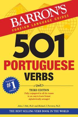 501 Portuguese Verbs - Nitti, John J, and Ferreira, Michael J