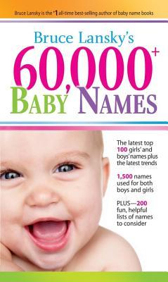 60,000+ Baby Names - Lansky, Bruce