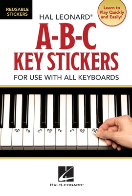A-B-C Key Stickers: For Use with All Keyboards - Hal Leonard Publishing Corporation