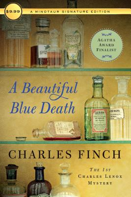 A Beautiful Blue Death: The First Charles Lenox Mystery - Finch, Charles