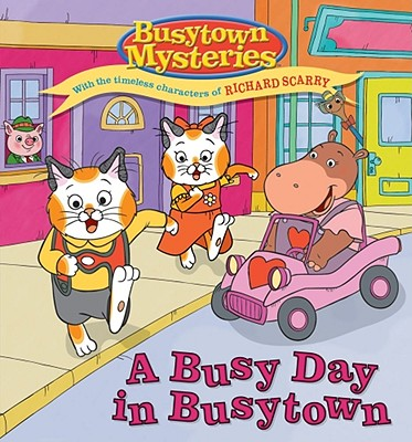 A Busy Day in Busytown - Shaw, Natalie