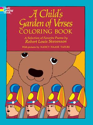 A Child's Garden of Verses Coloring Book - Stevenson, Robert Louis