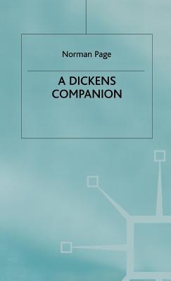 A Dickens Companion - Page, Norman, Professor