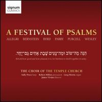 A Festival of Psalms - Aaron Burchell (alto); Daniel Traves (treble); David Gould (alto); Frederick Macbruce (treble); Giles Underwood (bass);...