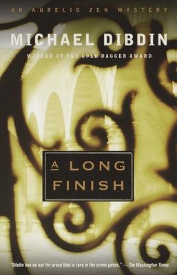 A Long Finish: An Aurelio Zen Mystery - Dibdin, Michael