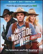 A Million Ways to Die in the West [2 Discs] [Includes Digital Copy] [Ultraviolet] [Blu-ray/DVD]