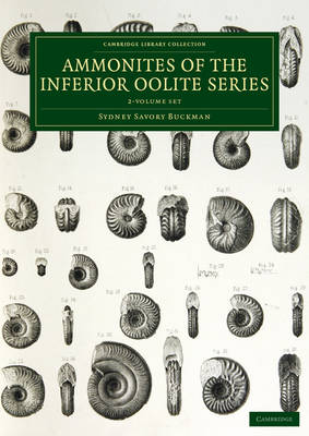 A Monograph of the Ammonites of the Inferior Oolite Series 2 Volume Set - Buckman, Sydney Savory