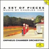 A Set of Pieces: Music by Charles Ives - Annabelle Hoffman (cello); Benjamin Herman (chimes); Benjamin Herman (percussion); Benjamin Herman (drums);...