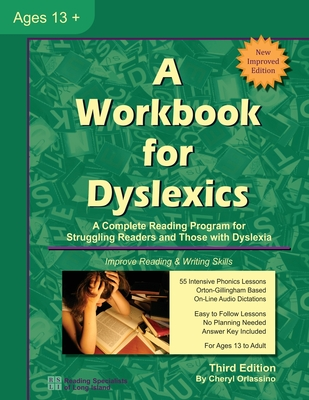 A Workbook for Dyslexics - Orlassino, Cheryl