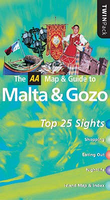 AA Twinpack Malta and Gozo - Levy, Patricia