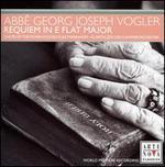 Abbé Georg Joseph Vogler: Requiem in E flat Major
