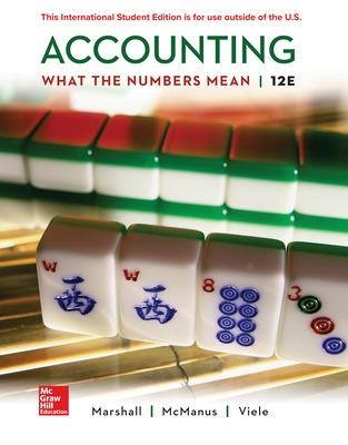 Accounting: What the Numbers Mean - Marshall, David, and Mcmanus, Wayne, and Viele, Daniel