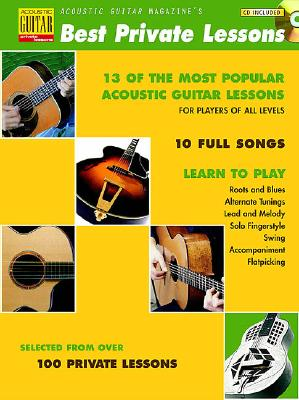 Acoustic Guitar Magazine's Best Private Lessons - Hal Leonard Corp (Creator)