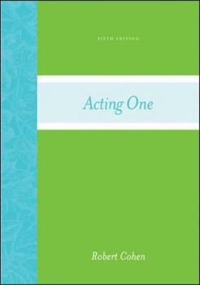 Acting One - Cohen, Robert