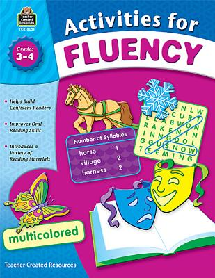 Activities for Fluency, Grades 3-4 - Hart, Melissa