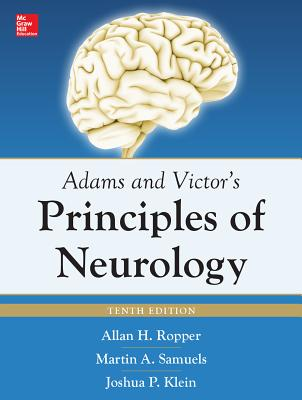 Adams and Victor's Principles of Neurology 10th Edition - Ropper, Allan H, Dr.