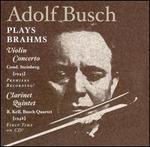 Adolf Busch Plays Brahms