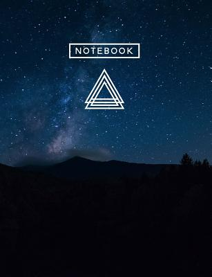Aesthetic Art Journaling: Light Weight Mountain Hiking Composition Book 150 Dotted Bullet/Dot Grid Pages Dark Mountain Magic - Aesthetics, Writing