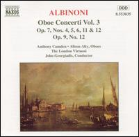 Albinoni: Oboe Concerti, Vol. 3 - Anthony Camden (oboe); London Virtuosi; John Georgiadis (conductor)