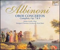 Albinoni: Oboe Concertos (Complete), Opp. 7 & 9 - Giovanni de Angeli (oboe); Soloists of the Chamber Orchestra of Europe; Stefan Schilli (oboe); Tanja Becker-Bender (violin);...