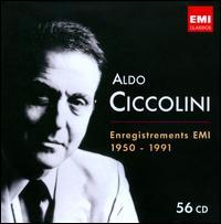 Aldo Ciccolini: Enregistrements EMI 1950-1991 - Aldo Ciccolini (clavecin); Aldo Ciccolini (piano); Alexis Weissenberg (piano); Andre Boutard (clarinet);...