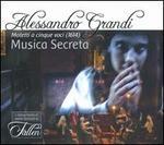 Alessandro Grandi: Motetti a cinque voci (1614)