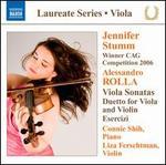 Alessandro Rolla: Viola Sonatas; Duetto for Viola and Violin; Esercizi