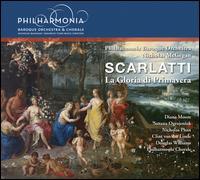 Alessandro Scarlatti: La Gloria di Primavera - Clint van der Linde (counter tenor); Diana Moore (mezzo-soprano); Douglas Williams (bass baritone); Nicholas Phan (tenor);...