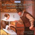Alessandro Scarlatti: Opera omnia per tastiera, Vol. 4