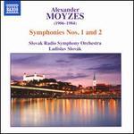 Alexander Moyzes: Symphonies Nos. 1 and 2