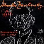 Alexander Zemlinsky im Exil: Kammermusik und Lieder
