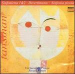 Alexandre Tansman: Sinfonietta 1 & 2; Divertimento; Sinfonia picola