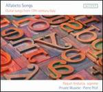 Alfabeto Songs: Guitar Songs from the 17th century