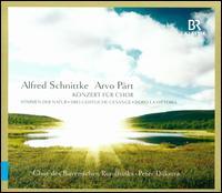 Alfred Schnittke, Arvo Pärt: Konzert für Chor - Andreas Moser (vibraphone); Andrew Lepri Meyer (tenor); Benedikt Göbel (bass); Gabriele Weinfurter-Zwink (alto);...