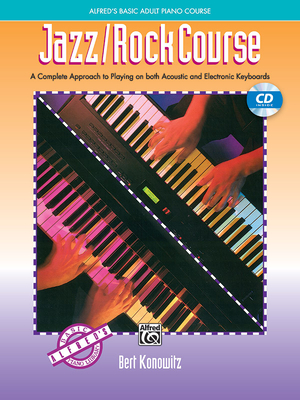 Alfred's Basic Adult Jazz/Rock Course: Book & CD - Konowitz, Bert